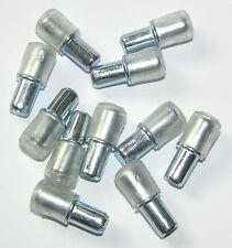 5mm Plug in Shelf Studs Pegs supports for Glass * 12
