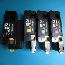 4x Toner Cartridge Set For Xerox phaser 6010 6000 KCMY