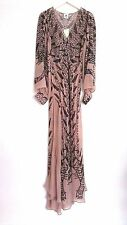 H&M Studio AW 2016 Beige Chiffon Maxi Dress UK6 EU32 ONLY ONE!