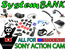 Montage-Zubehör Gelenkset Halterungen für SONY ACTION CAM HDR-AS10 HDR-AS15