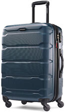 "Samsonite Omni 24"" Hardside Spinner Expandable Upright Luggage - Teal"