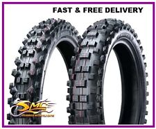 KTM 200 EXC Tyre Pair Maxxis 120/90-18 90/90-21 FIM Approved MX - ROAD LEGAL