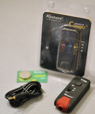 (PRL) APUTURE REMOTE CONTROL CANON CRC IR MODE BULB FUNCTION AF SHUTTER EOS