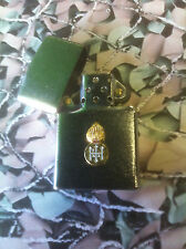 Army Military Regimental Lighter With Royal Highland Fusiliers On Front Satin