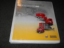 Wacker Neuson Ground Heater E1100 operators maintenance manual