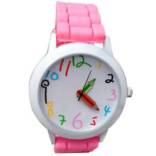 Woman Fashion Quartz Unisex Boys and Girl's Beautiful Students All-Match Watch