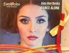 EUROVISION MACEDONIA 2017 JANE BURCHESKA Dance Alone PROMO CD SINGLE Burceska