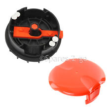 Genuine FLYMO Strimmer Cutter Head Trimmer Spool Case Housing & Cap CTXT25 500XT