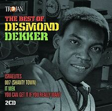 Best Of Desmond Dekker - Desmond Dekker (2016, CD NEUF)2 DISC SET