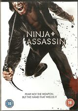 NINJA ASSASSIN - Rain, Naomie Harris. Directed by James McTeigue (DVD 2010)