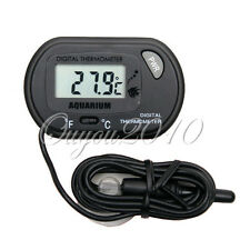 LCD DIGITAL FISH REPTILE AQUARIUM WATER TANK THERMOMETER NEW UK SELLER