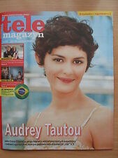 Tele Magazyn 25/2014 AUDREY TAUTOU on front cover