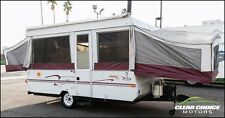 2000 JAYCO EAGLE 23' TENT TRAILER - SLEEPS 8 - KITCHEN - 13' WHEN CLOSED - LIGHT