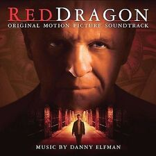 RED DRAGON - ORIGINAL MOTION PICTURE SOUNDTRACK - 17 TRACK MUSIC CD - LN - E859