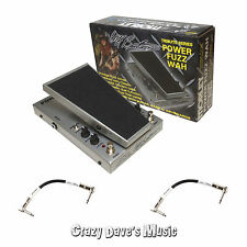 Morley Cliff Burton Metallica Tribute Series Power Fuzz Wah Effect Pedal PFW
