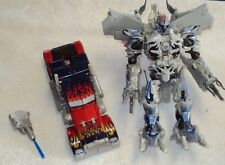 TRANSFORMERS 2007 MOVIE LEADER CLASS MEGATRON AND OPTIMUS PRIME BOTH COMPLETE