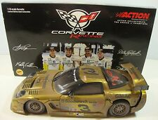 2001 #3 Chevrolet Corvette C5-R Action 1:18 Die Cast  Earnhardt Gold RaceVersion