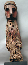 AUTHENTIC ERODED POWER FIGURE NUCHU MEDICINAL SHAMAN WOOD STATUE DOLL ETHNIX
