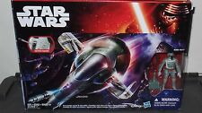 Star Wars Boba Fett Slave 1 Ship 3.75 Disney Hasbro Force Awakens NEW
