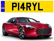 P14 RYL DARYL DARYLS DARYLL DARYLLS DAZ LOOKALIKE PRIVATE NUMBER PLATE NO FEES!