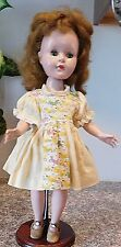 "Vintage 15""  Head Turning Walker American Character Sweet Sue Bent Knee Doll"