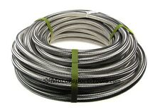 Motamec AN -20 AN20 JIC Stainless Steel Braided Hose Fuel Oil Coolant 1m Meter