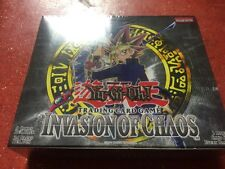 Yugioh Invasion of Chaos Sealed Booster Box Unlimited edition