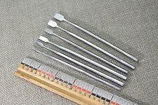 SET OF 6 STAINLESS  21-13910  PRECISION WOOD CARVING CHISELS WHITTLING TOOLS