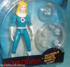 Fantastic Four Animated Invisible Woman with Force Shield Figure Loose Complete