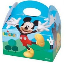 DISNEY Mickey Mouse Bambini Compleanno alimentari favore Bottino Festa CARRY BOX