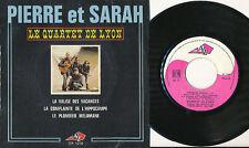 LE QUARTET DE LYON EP FRANCE PIERRE ET SARAH