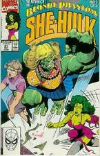 Sensational She-Hulk # 21 (Tom Artis) (guest: The Blonde Phantom) (USA, 1990)