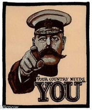 """Your Country Needs You (embroidered) Patch 10CM x 12CM (4 3/4""""x 3 3/4+"""")"""