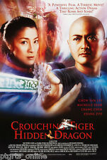 "Crouching Tiger Hidden Dragon Movie Poster 24"" x 28"" New In Package"
