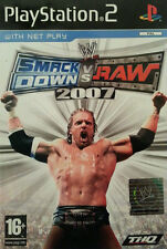 Wwe Smackdown Vs. Raw 2007 (PS2), muy buen PlayStation 2, Playstation 2 video Ga