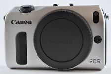 [Exc⁺⁺] CANON EOS M 18.0 MP Silver (Body only) Mirrorless SLR Camera