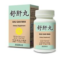 Shu Gan Wan Helps For a Healthy liver and Maintain Digestive System Made in USA