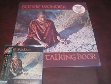 STEVIE WONDER TALKING BOOK HIGHQUALITY COLORED VINYL LP+ JAPAN REPLICA OBI CD