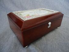 """Granddaughter I Love You"" Music Box with Poem Card & Key - By Bradford Exchange"