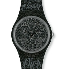 "SWATCH GENT ""TIME NEVER DIES BLACK"" (GO110) NEU, SELTEN"