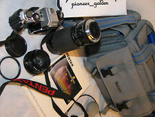PENTAX PROGRAM PLUS 35mm SLR CAMERA w/SMC Pentax-A 50mm f2 LENS