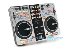 DJ TECH RELOADED 6 DECK USB DJ CONTROLLER W/AUDIO INTERFACE BUILT IN SUPPORTS