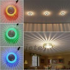 3W RGB LED Wall Light Lamp Corridor Ceiling Multicolor Home Lighting + IR Remote