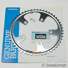 "Shimano New 105 50T 110mm BCD 3/32"" Chainring. NOS."