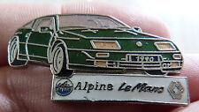 BEAU PIN'S ALPINE A 610 RENAULT LE MANS EGF DEMONS ET MERVEILLES