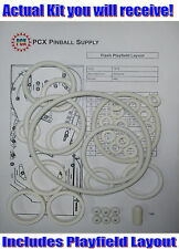 1979 Williams Flash Pinball Machine Rubber Ring Kit