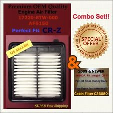 CR-Z Cabin and Engine Air filter Combo Set Fast Ship US Seller 17220-RTW-000