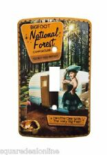 67067 Bigfoot National Forest Campground Light Cover Switch Plate Sourpuss