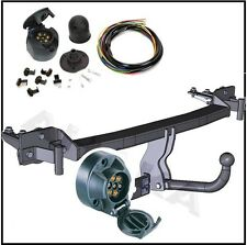 Towbar & Electrics 7pin 12N BMW 5 Series E39 Saloon 1995 to 2004 / swan neck NEW