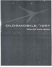 1957 Oldsmobile Salesman's Dealer Data Book mx454-XXA7GY